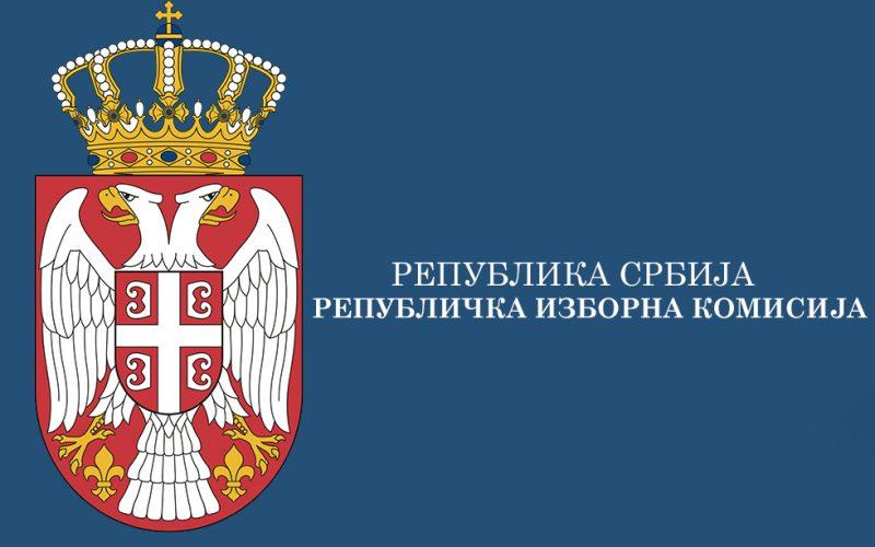 73. sednica Republičke izborne komisije